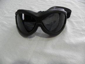 Tmavé ochrané brýle