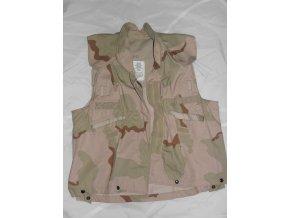 Vesta maskovaná  3D navlíkací  neprůstřelnou vestu US ARMY