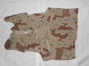 Vesta maskovaná 6D potisk převlíkací  přez neprůstřelnou vestu