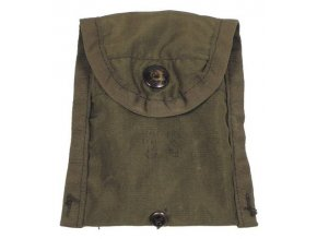 Kompasová kapsička - psaníčko,zelená originál silon