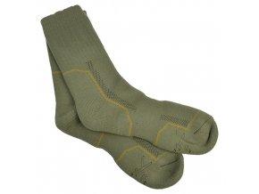 Ponožky zimní AČR pletené - silné ,pro použití do bot ECWCS