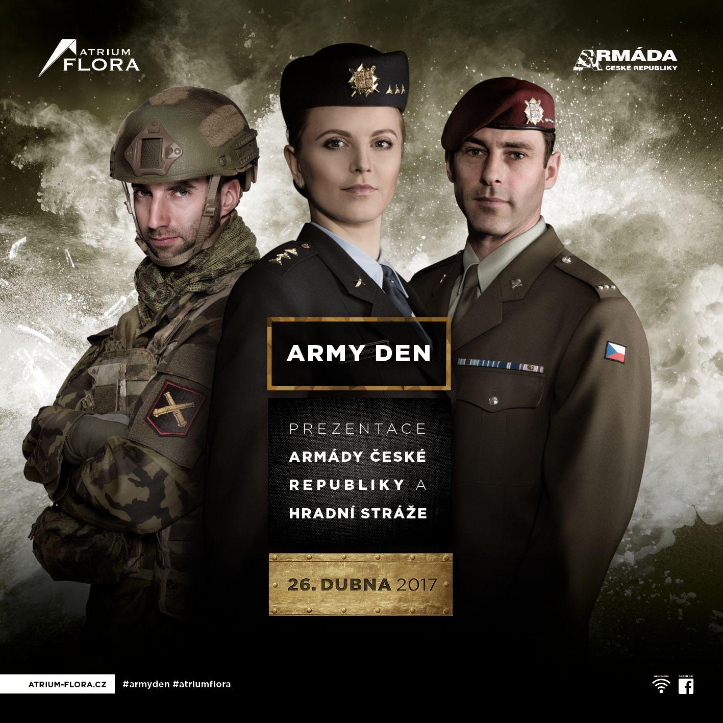 Slevový kupón pro účastníky akce Army den flora 2019