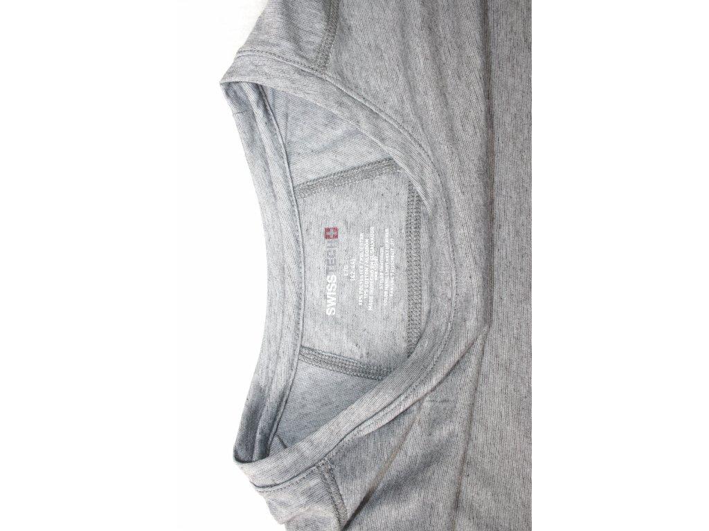 Triko pánské s dlouhým rukávem Swiss Tech - šedé - Army Zboží 1806bce764