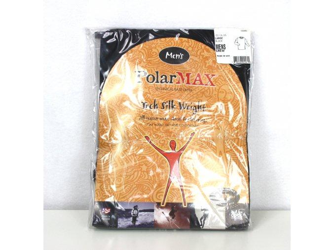 Termo triko, spodní prádloPolarMax s antibakteriální úpravou Lightweight US - černá