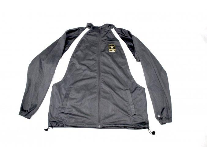 Bunda, mikina Badger U.S. Army(sportovní) - černobíla