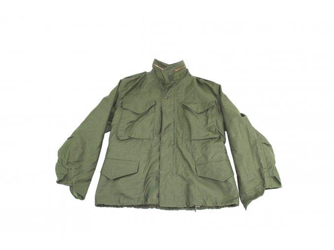 Polní kabát, bunda M65, OG-107, rok 1983  - oliv