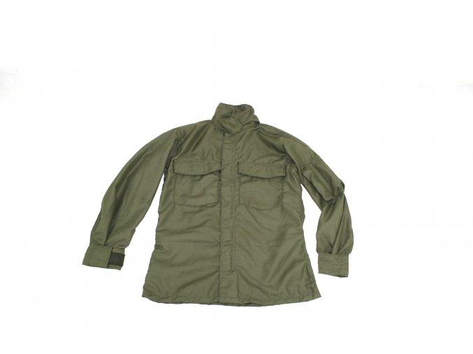 Košile US pilotská nehořlavá Vietnam-SHIRT, FLYERS ,HOT WEATHER,FIRE RESISTANT- oliv(předváděcí)
