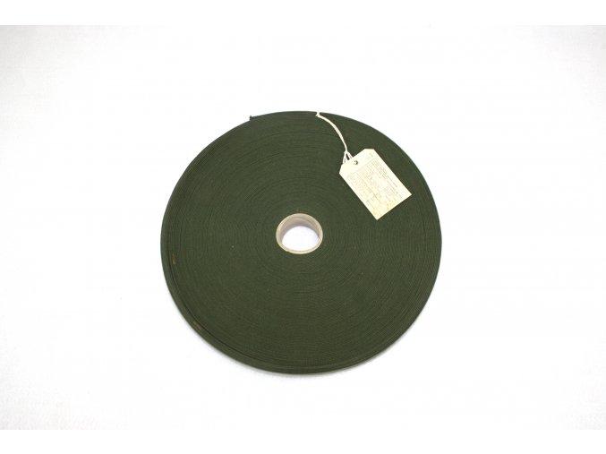 Lemovka, tkaloun (popruh) originál US - oliv