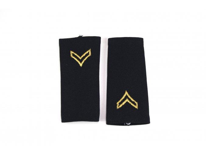 Hodnost Insignia US ARMY nárameníky Corporal (desátník)