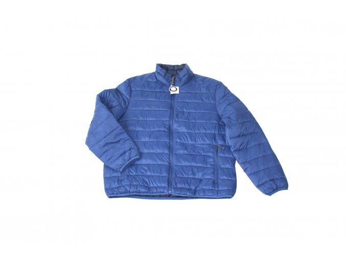 Pánská lehká prošívaná bunda Swiss Tech- modrá
