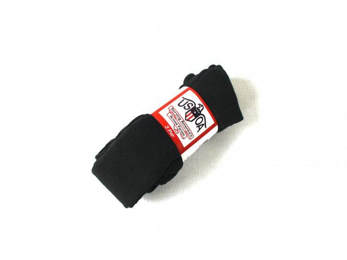 Armádní ponožky Anti-Microbial-US Army - černé