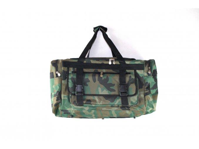 Cestovní taška - woodland