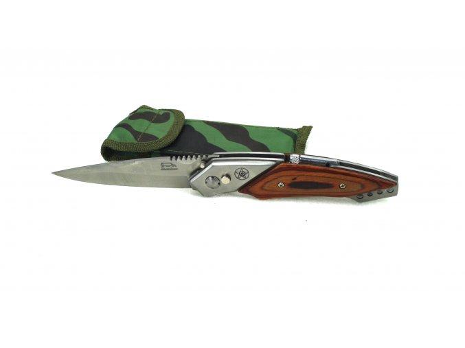 Vystřelovací nůž s baterkou