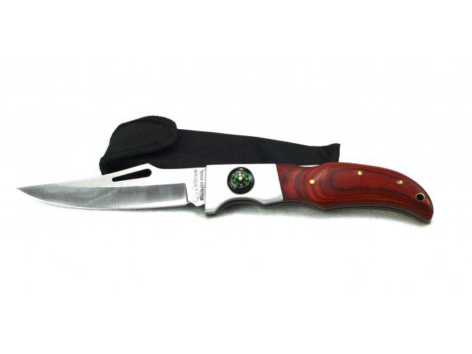 Zavírací nůž s kompasem USA SABER