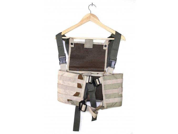 Taktická vesta RACK SYSTEM - desert