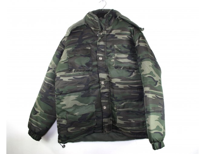 Pánská zimní bunda GATKIN - woodland