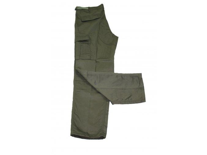Kalhoty Outshell - tmavě zelené