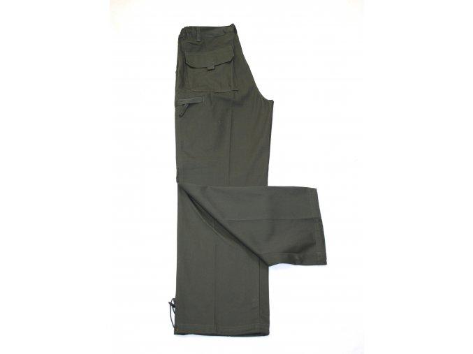 Kalhoty Andaeistr - tmavě zelené