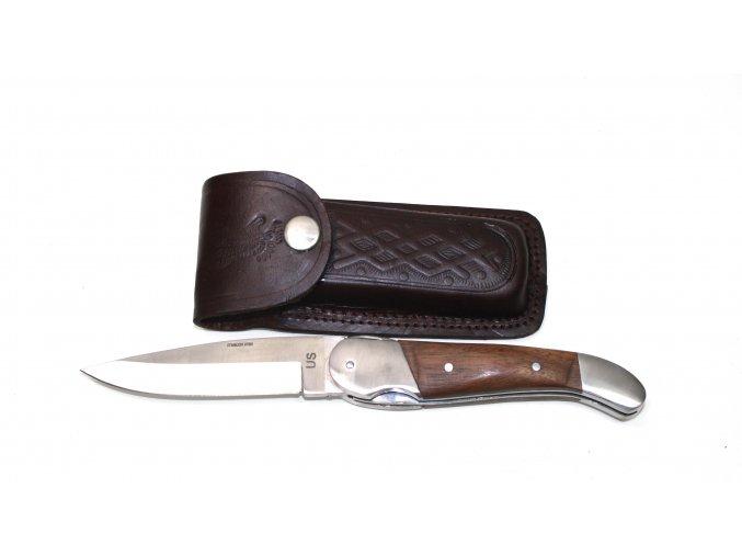 Kapesní, zavírací nůž Stainless Steel US