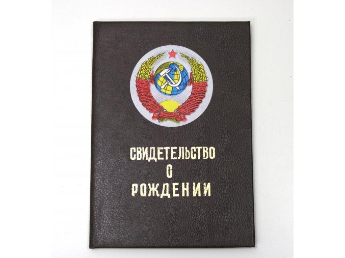 Desky na záznamy o narození Rusko