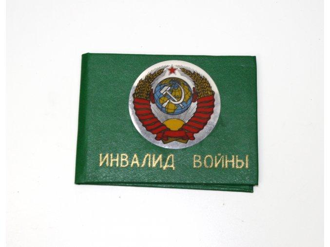 Desky na záznamy invalida Rusko