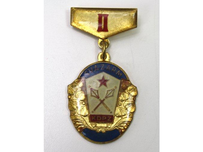 Odznak SVAZARM KDPZ II