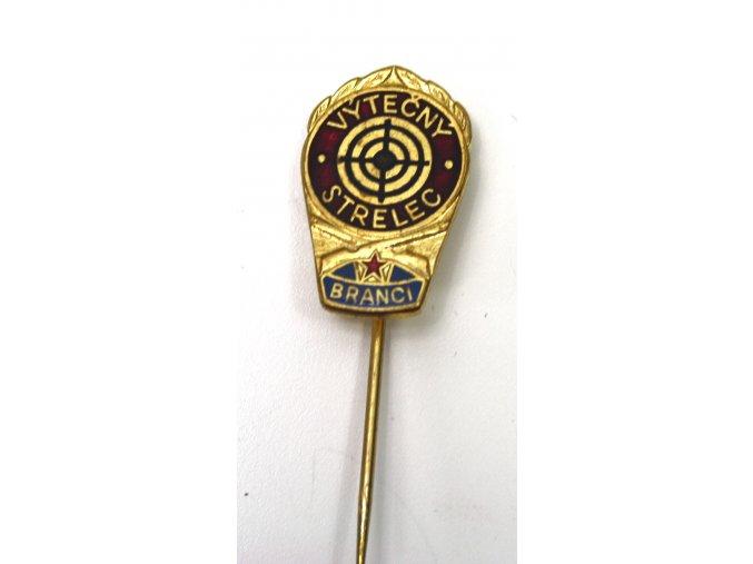 Odznak ČSLA - Výtečný střelec branci
