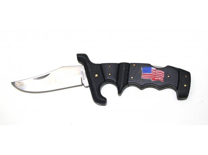 Kapesní nůž s ergonomickou rukojetí - usa