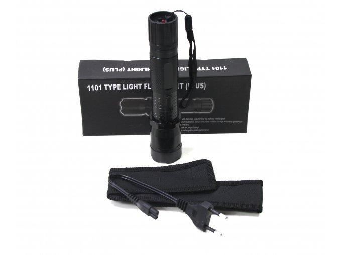 Svítilna LED s paralyzérem TYP 1101 - černá