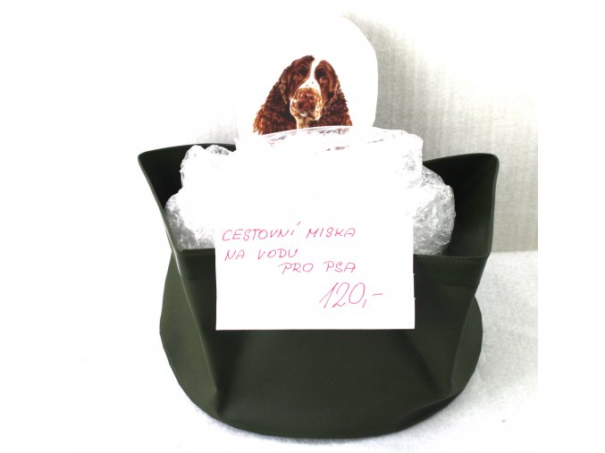 Cestovní miska pro psa