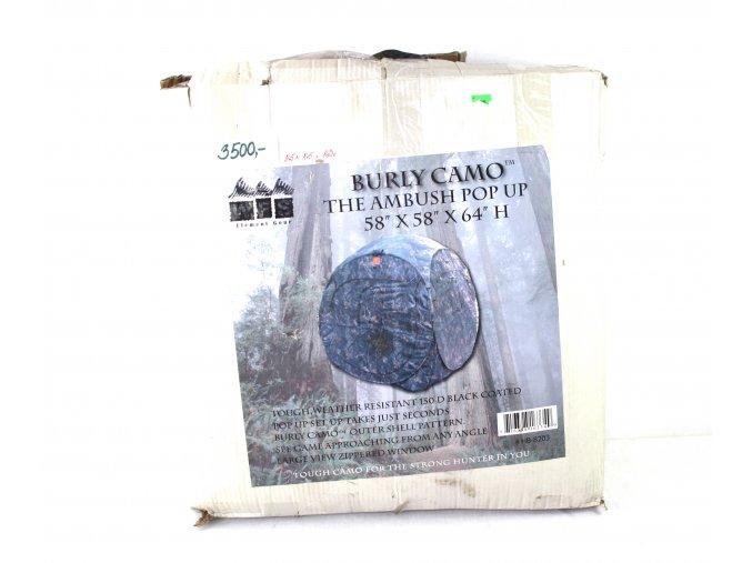 Maskovací stan MFS - burly camo
