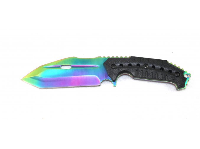 Celokovový nůž s pevnou rukojetí