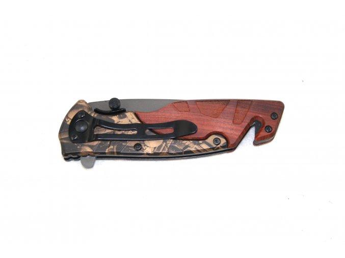 Kapesní nůž s klipem - maskování
