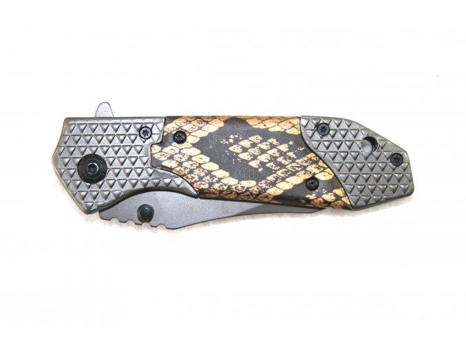 Kapesní nůž s klipem - had