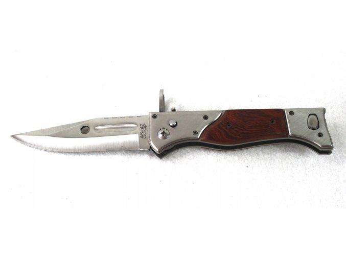 vystřelovací nůž AK47 CCCP 27 cm - repro