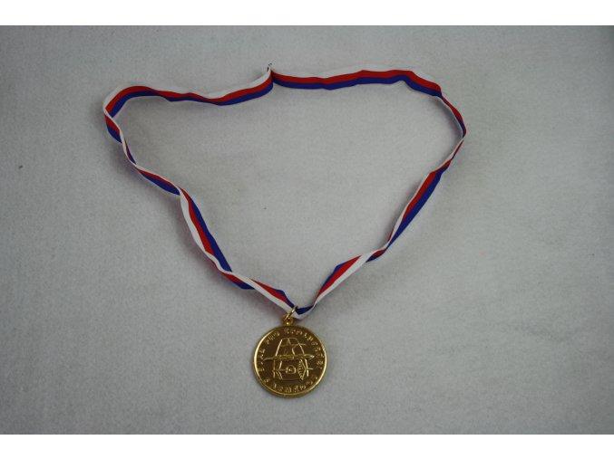 Medaile, ocenění, plaketa Svaz pro spoluprací s armádou - zlatá