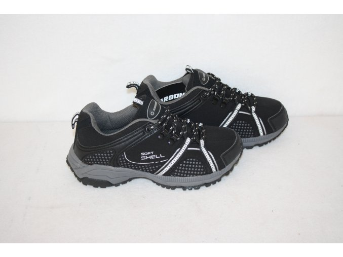 Boty, outdoorová obuv Softshell SNAKE - černá