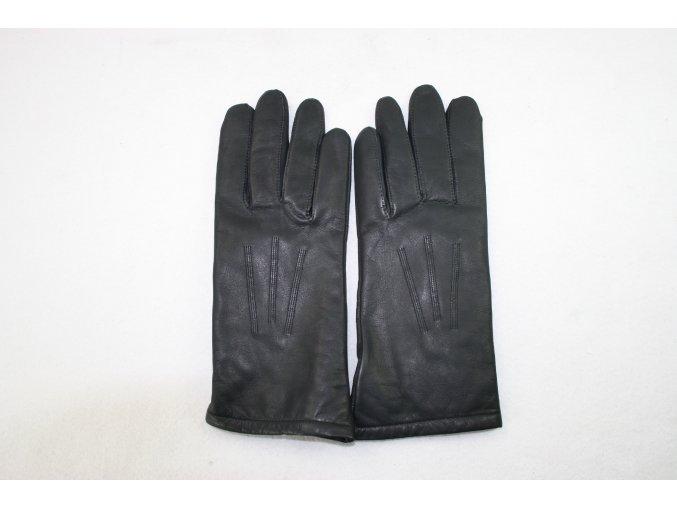 Rukavice kožené AČR - černé