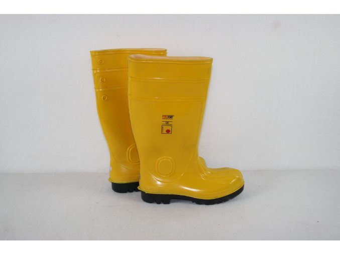 Holínky EuroSafety - žluté