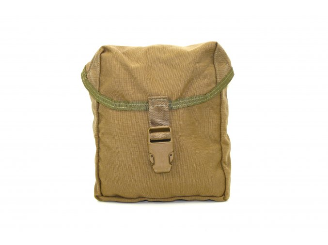 Sumka univerzální US Round Pouch Molle II. - coyote