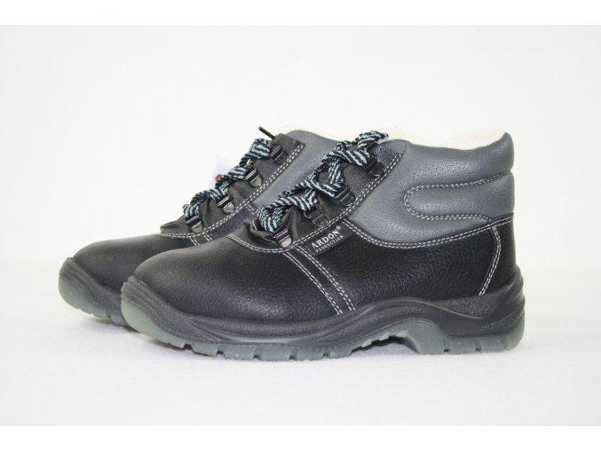 Pracovní obuv,boty WINTER - kotníková