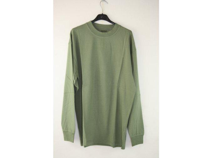 Tričko, triko AČR, dlouhý rukáv  - khaki