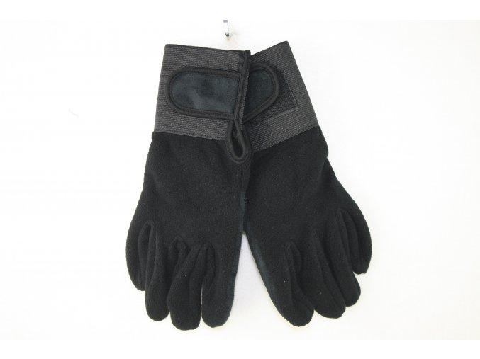 Rukavice mikro-fleec - černé