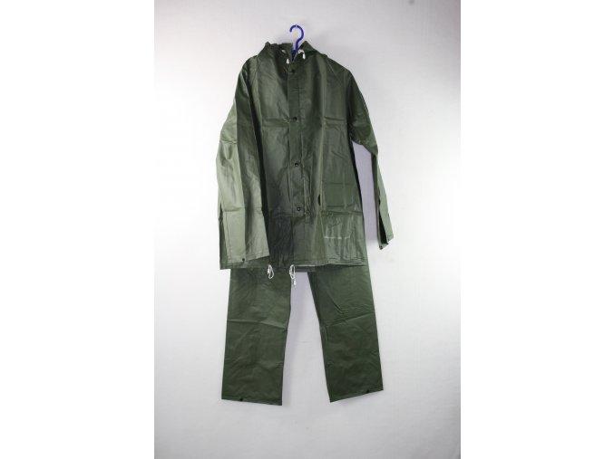 Oblek nepromokavý (blůza+kalhoty) - zelený