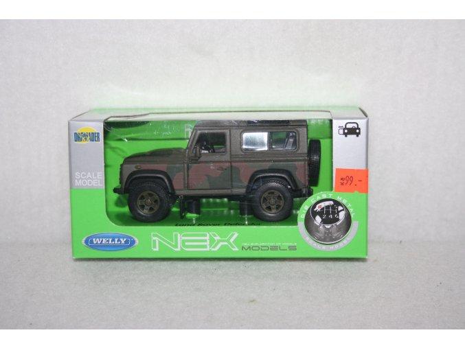 Autíčko kovové Land Rover