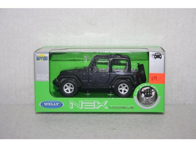 Autíčko kovové Jeep Wrangler Rubicon