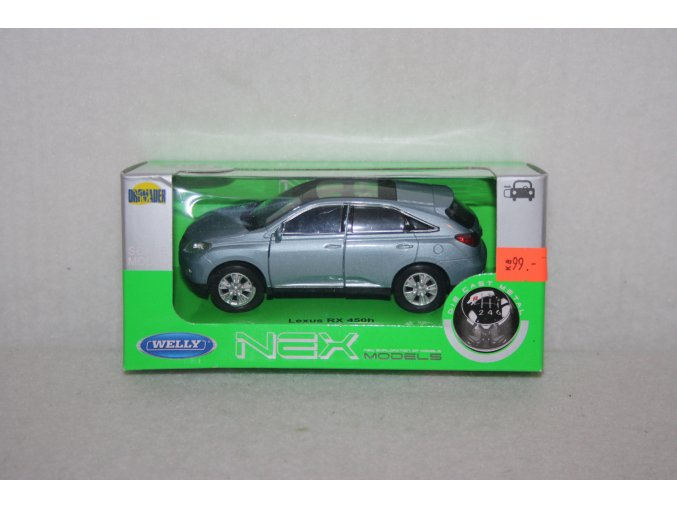 Autíčko kovové Lexus RX