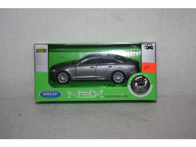 Autíčko kovové Jaguar