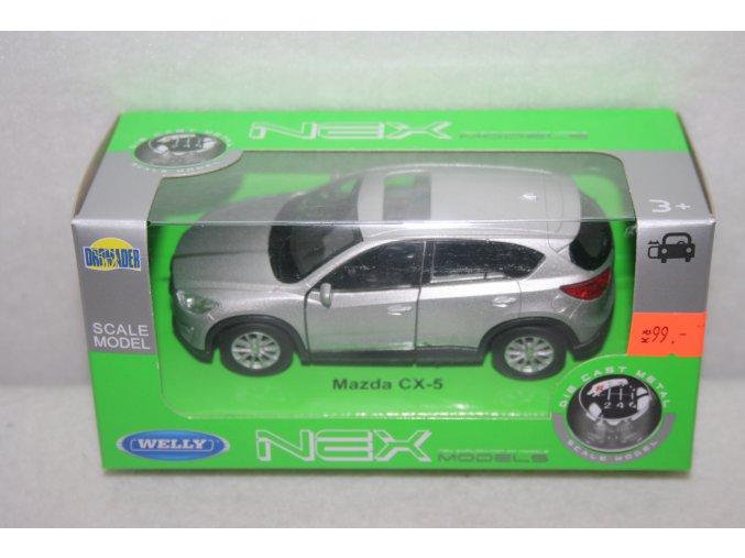 Autíčko kovové Mazda CX-5