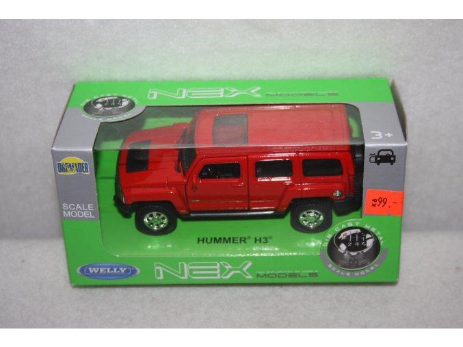 Autíčko kovové Hummer